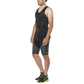 Skins DNAmic Triathlon Heren with Front Zip zwart